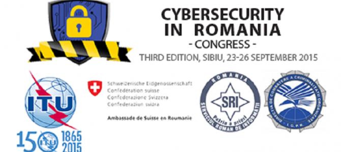 ANSSI participa la cea de-a treia editie a congresului Cybersecurity in Romania