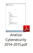 Analiza Cybersecurity 2014-2015