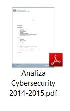 Analiza Cybersecurity 2014-2015