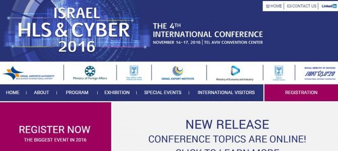 Israel HLS&Cyber 4th International Conference