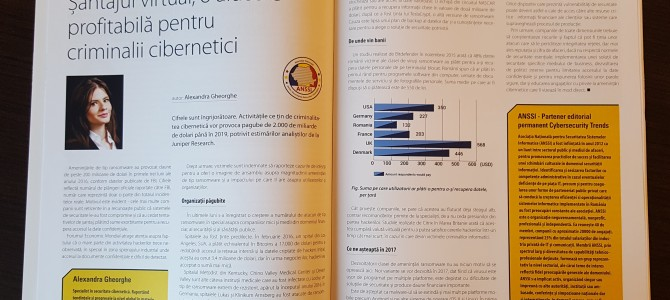 Un nou articol ANSSI in Cybersecurity Trends