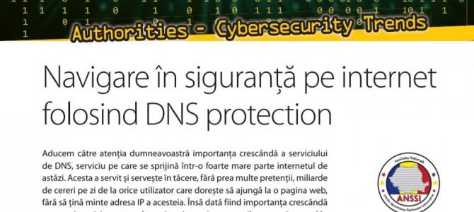 Navigati in siguranta pe Internet folosind DNS protection