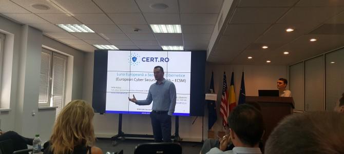 29 iunie, la CERT.ro: Pregatirile pentru Luna Securitatii Cibernetice
