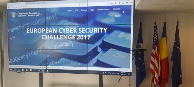 29 iulie: Reunirea lotului largit al Romaniei pentru European Cyber Security Challenge