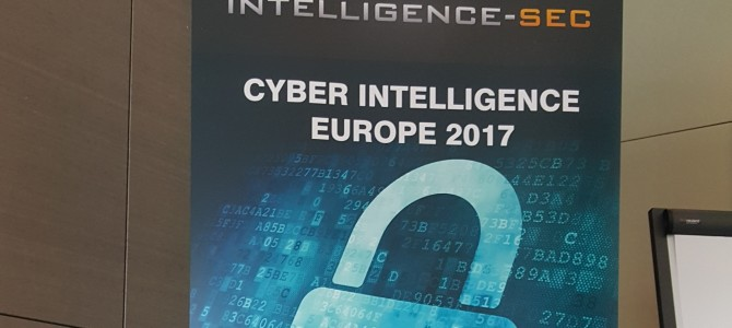 ANSSI a participat la Cyber Intelligence Europe 2017