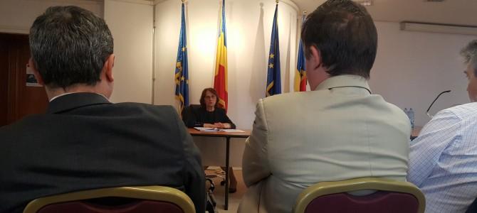 26 septembrie: Sedinta de lucru la MCSI pe tema semnaturii electronice