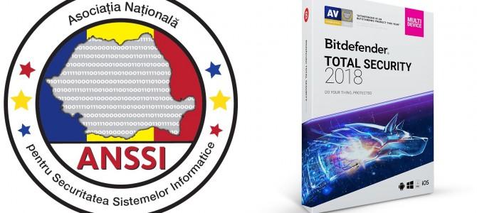 "Bitdefender, membru fondator ANSSI, castiga marele premiu ""Product of the Year""!"