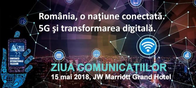 15 mai: ANSSI la Ziua Comunicatiilor