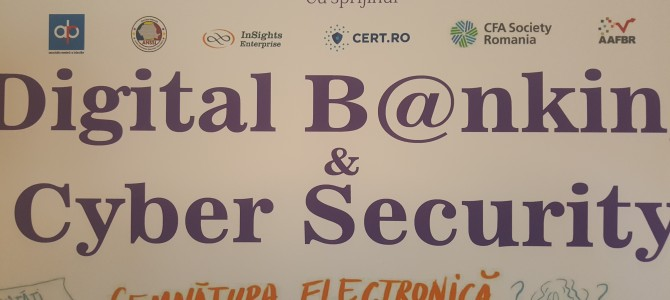 29 martie: ANSSI a participat la discutiile despre semnatura electronica la Digital B@nking and Cyber Security organizat de Oxygen Events