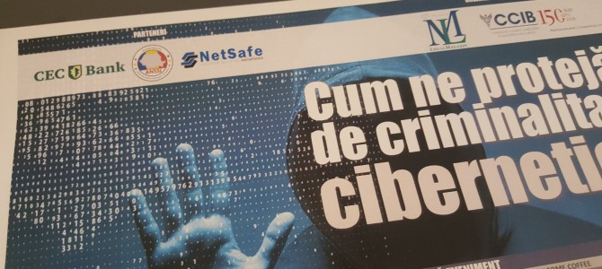 """4 aprilie: ANSSI la evenimentul """"Cum ne protejam de criminalitatea cibernetica"""" organizat de Legal Magazin"""