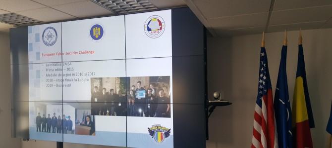 19 aprilie: Prima sedinta pregatitoare pentru Concursul european de securitate cibernetica 2018. La ultimele 2 editii, Romania a obtinut medalia de argint!