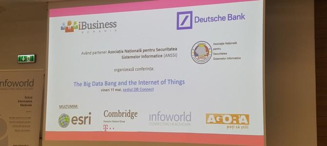 11 mai: ANSSI a fost alaturi de iBusiness si Deutsche Bank