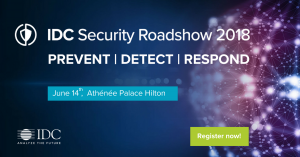 IDC Security Roadshow @ Atheneee Palace Hilton Hotel