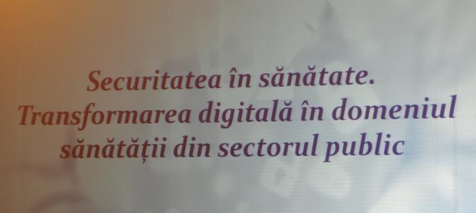 14 noiembrie: Transformarea digitala in domeniul sanatatii