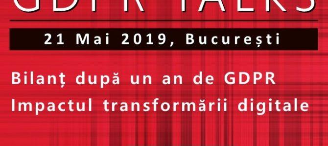 21 mai / GDPR Talks