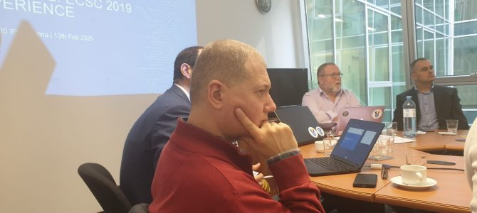13-14 februarie, Viena: Sedinta pregatitoare pentru Campionatul European de Securitate Cibernetica