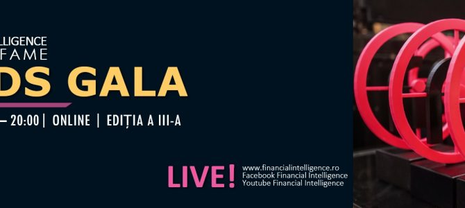 25 noiembrie / Financial Intelligence Award Gala