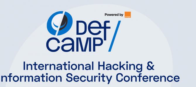 7-8 noiembrie / DefCamp