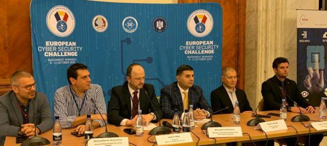 9 octombrie / European Cyber Security Challenge