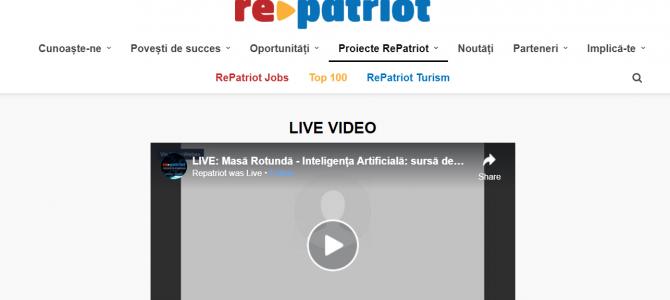 18 iunie/IA sursa de dezvoltare pentru Romania – RePatriot