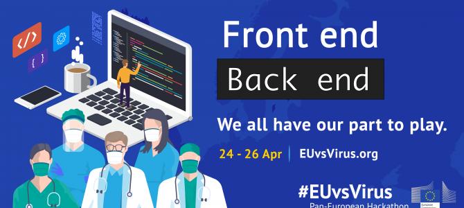 24-26 aprilie/EUvsVirus Hackathlon