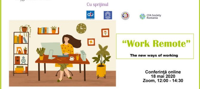 18 mai/ Work Remote – The New Way