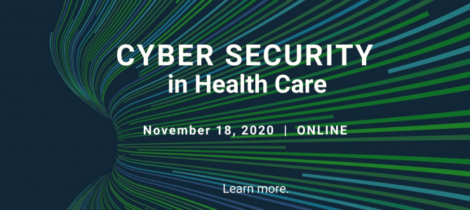 18 noiembrie / Cyber Security in Health Care