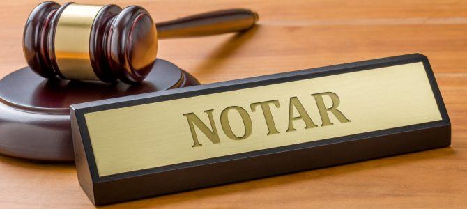 28 octombrie / Acte notariale la distanta