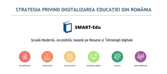 Dezbateri privind Strategia Nationala de Digitalizare a Educatiei – SMART-Edu