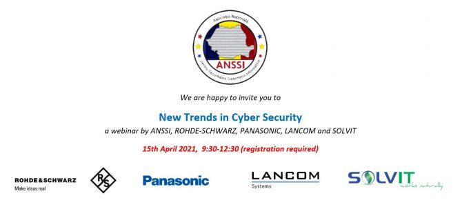 15 aprilie – un nou Seminar Tehnologic ANSSI: Rohde-Schwarz, Panasonic, Lancom si Solvit
